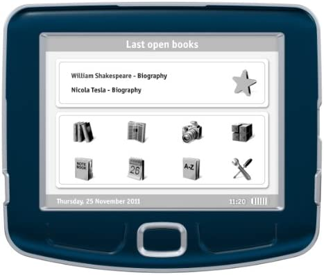PocketBook 360 Plus lectore de e-Book 2 GB WiFi Azul: Amazon.es: Electrónica