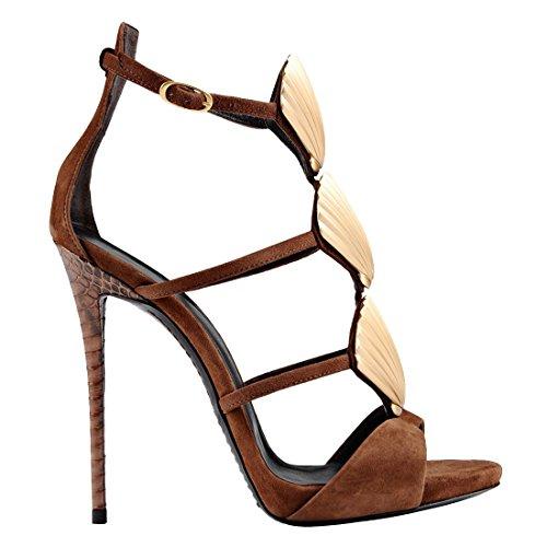 altas mujer mujer marrón Zapatillas altas mujer marrón altas TDA Zapatillas TDA Zapatillas marrón TDA qBRISw