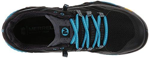 All Merrell Black Out Blue de Peak Femme Algiers Noir Chaussures Trail TdR1qw