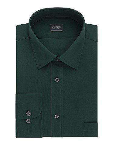 Arrow Men's Big&Tall Regular-Fit Poplin Wrinkle Free Dress Shirt