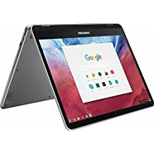 "2018 Samsung 12.3"" 2 in 1 2400 x 1600 WLED Touchscreen Chromebook Plus Laptop Computer, OP1 Hexa-Core (Dual A72, Quad A53) 2.0GHz, 4GB RAM, 32GB eMMC + 256GB SD, WiFi, Bluetooth, Webcam, Chrome OS"