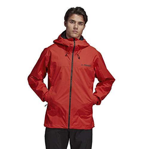 Swift Rain Jacket Mens Red, Size S