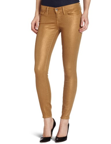 Lucky Brand Women's Charlie Low Rise Skinny Jean, Membrane Gold, 28x32
