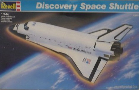 revell space shuttle discovery - 7