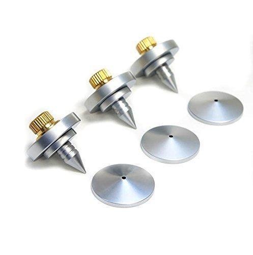 4Pcs Speaker Spike Isolation Feet Cone for Speaker Cd Amplifier Stand Base