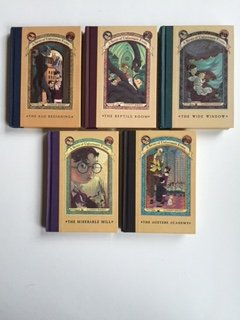 Series of Unfortunate Events (Books 1-5 Set) Bad Beginning; ... Austere Academy