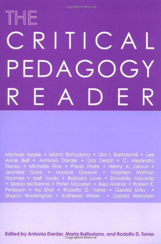 The Critical Pedagogy Reader