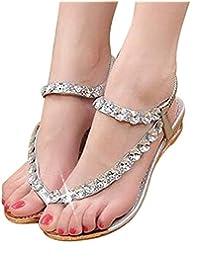 Women Summer Sandals Blingbling Crystal Platform Wedges Shoes Woman Golden Sliver Slip On Flip Flops