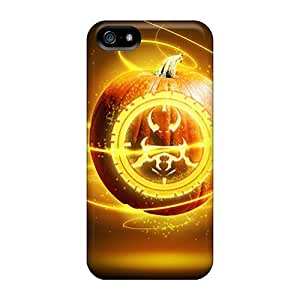 New Shockproof Protection Case Cover For Iphone 5/5s/ Abstract Pumpkin Case Cover