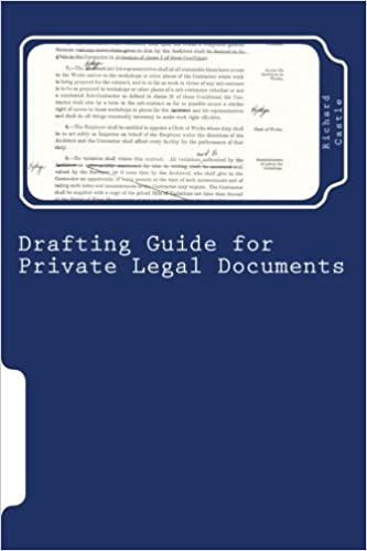 Buy Drafting Guide for Private Legal Documents Book Online