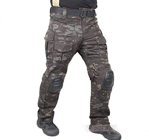 popper cargo pants - 5