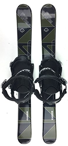Snowjam Panzer 99cm Skiboards Snowblades with Technine Snowboard Bindings 2018
