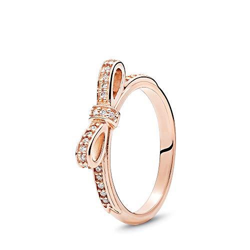 Pandora Sparkling Bow Ring