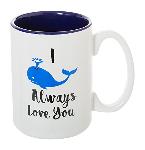I Whale Always Love You - Large 15 oz Double-Sided Funny Coffee Tea Mug -
