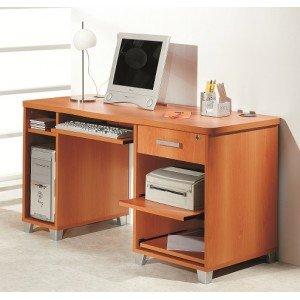 Intradisa - Mesa ordenador modelo 4035 - Acabado cerezo: Amazon.es ...