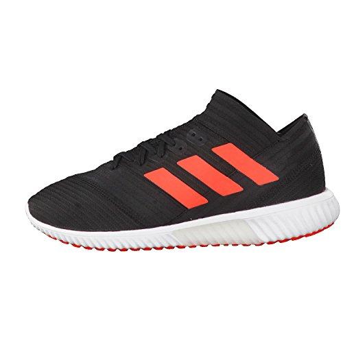 adidas Nemeziz Tango 17.1 TR, Botas de Fútbol Para Hombre, Negro (Negbas/Rojsol/Ftwbla 000), 46 2/3 EU