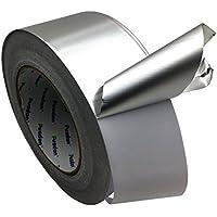 多機能 導電性アルミテープ、銀(51 mm x 55 m) アルミ箔テープ 耐熱性、防水、放射線防護