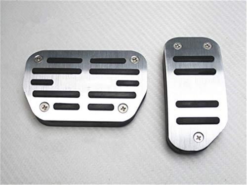 - Ushopkins No Drilling Automatic Car Nonslip Gas Brake Pedal Cover Accelerator Brake Foot Rest Pedals For Toyota RAV4 AT 14-18