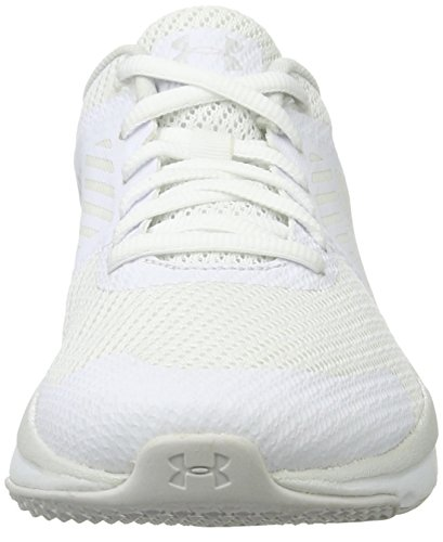 Under Armour UA W Micro G Press TR, Zapatillas Deportivas Para Interior Para Mujer Blanco (White)