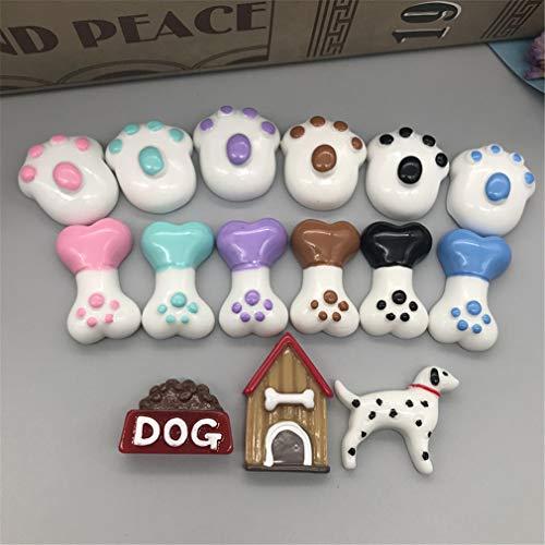Kawaii Simulation Miniature Resin Pet Dog/Kennel/Dog Food/Dog Bone/Dog Paw Print Flatback Cabochon Craft Decoration.DIY as picture25]()
