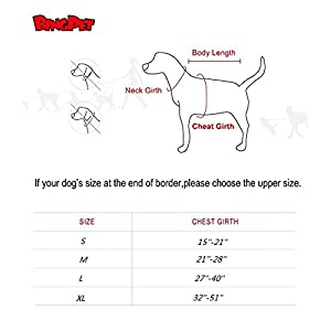 BINGPET No Pull Dog Harness Reflective for Pet Puppy Freedom Walking Medium Hot Pink