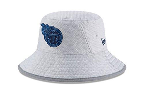 (New Era NFL 2018 Training Camp Sideline Bucket Hat - Gray (Tennessee Titans))