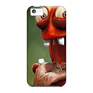 For Iphone 5c Tpu Phone Cases Covers(monster)