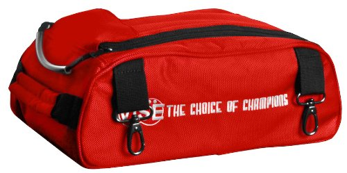 Vise Shoe Bag Add-On for Two Ball Roller, Red by Vise