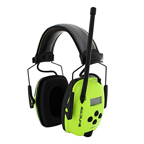 (Howard Leight by Honeywell Sync Hi-Visibility Digital AM/FM Radio Earmuff (1030390))