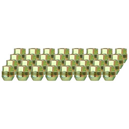 DPAccessories LOC2D8CZOGD05032 32 Dual Thread Wheel Lug Nuts M14x1.5 - Replaces Chevy/GMC # 9591772/99918.1 Wheel Lug Nut
