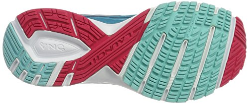 Brooks Launch 4, Zapatos para Correr para Mujer Multicolor (Blueradiance/patriotblue/virtualpink)