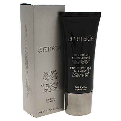 - Laura Mercier Silk Creme Moisturizing Photo Edition Foundation for Women, Beige Ivory, 1 Ounce