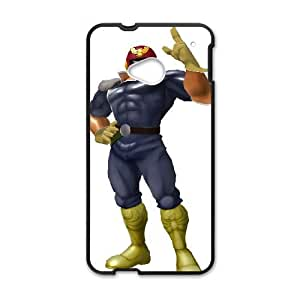 HTC One M7 Cell Phone Case Black Super Smash Bros Captain Falcon LSO7758899