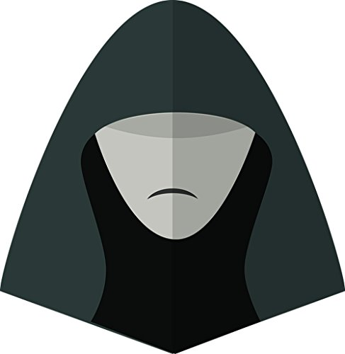 Gifts Delight Laminated 24x24 inches Poster: Starwars Man Hat Face Symbol Head Character Gentleman Guy Male Jedi Movies Dangerous Style Halloween Fear Horror Scary Dead Death Costume Bloody People -