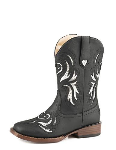 ROPER Kids Glitter Breeze Square Toe Boots -