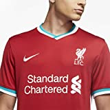 Nike Men's Soccer Liverpool Home Jersey (Large) Red