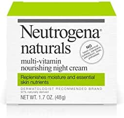 Facial Moisturizer: Neutrogena Naturals Multi-Vitamin Nourishing Night Cream