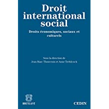 Le droit international social: Droits économiques, sociaux et culturels (ELSB.HORS COLL.) (French Edition)
