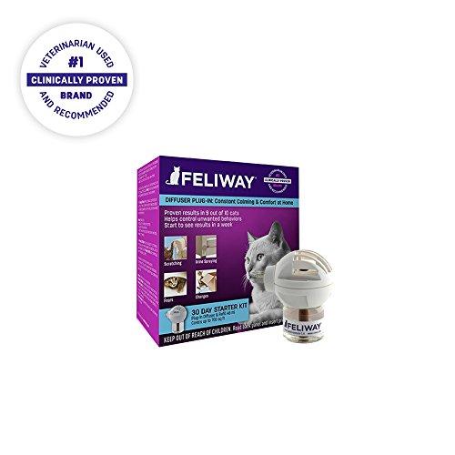 Feliway Classic Starter Kit para gatos (difusor y frasco de 48 ml)