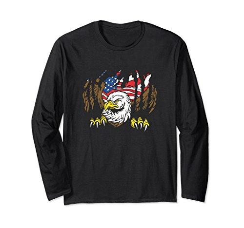 Eagle Flag Adult T-Shirt - 6
