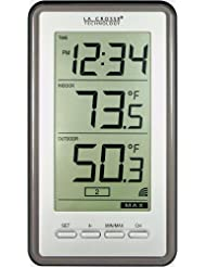 La Crosse Technology WS-9160U-IT Digital Thermometer with Ind...