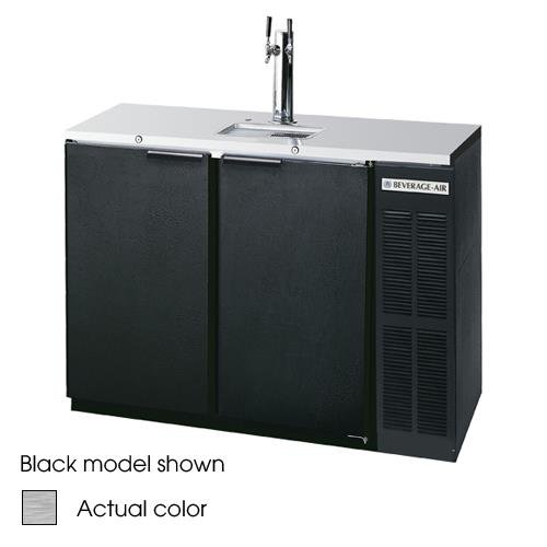 """Beverage-Air DD48Y-1-S 48"""" 2-Tap Stainless Steel Finish B..."""