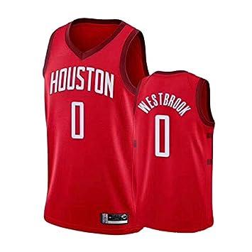 SHPEHP Russell Westbrook, Houston Rockets, 0 Pantalones Cortos de ...