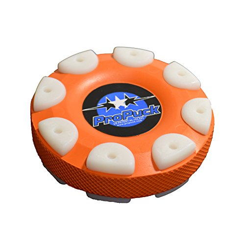 Pro In Line Hockey Puck - Proguard Carded Pro Puck, Orange