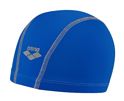 (Arena Unix Swim Cap, Royal/Royal/Silver)