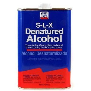 Klean-Strip QSL26 Denatured Alcohol, 1-Quart -