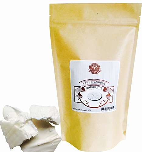 Kokum Butter -100% Pure and Natural 1 LB by Oslove Organics by Oslove Organics