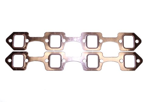 SCE Gaskets 4036 Pro Copper Header Gaskets for Ford 289-50L-351W V8 with stock manifolds or 1.5