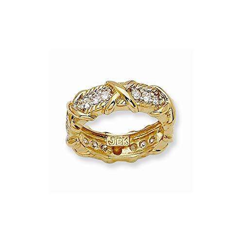 Jacqueline Kennedy Collection Vermiel Unity Ring, Size - Jacqueline Kennedy Collection
