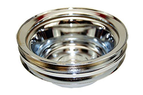 SBC Chevy 283-350 Chrome Steel LWP Double Groove Crankshaft (Groove Crankshaft Pulley)
